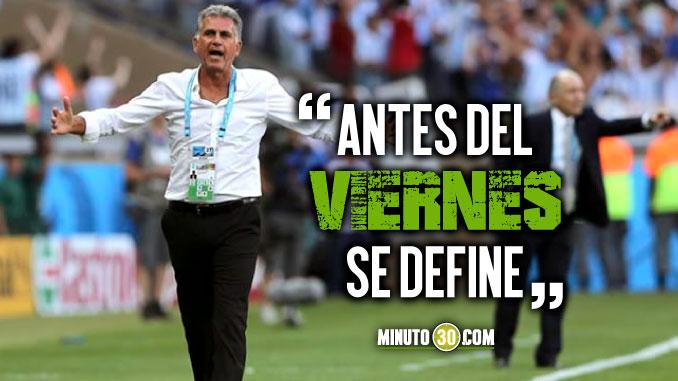 Lo de Queiroz esta cerca confirmo dirigente de la Federacion Colombiana de Futbol