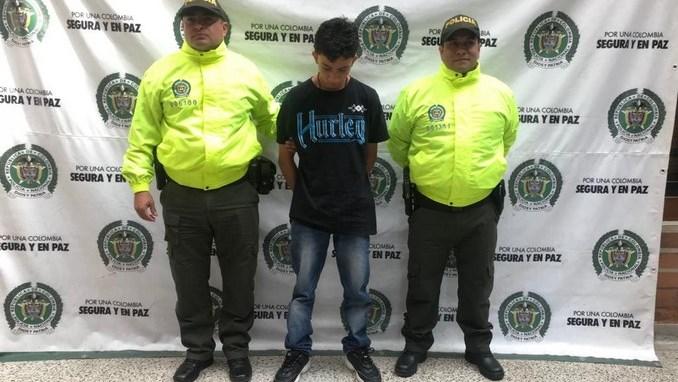 Alias 'Burrito', asegurado por asaltar un bus de Coonatra, pertenecía a la banda 'El Coco' de la Comuna 13