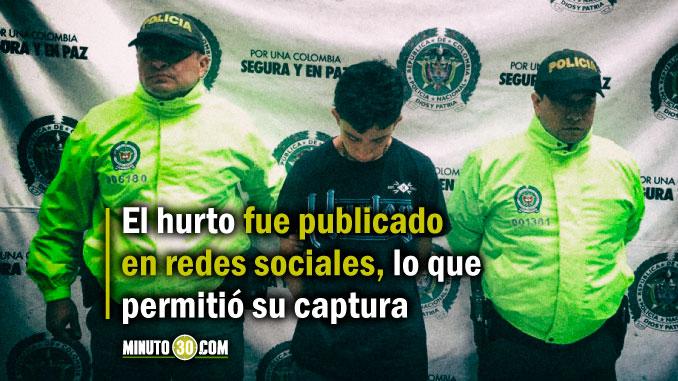 'Burrito', asegurado por asaltar un bus de Coonatra, pertenecía a la banda 'El Coco' de la Comuna 13