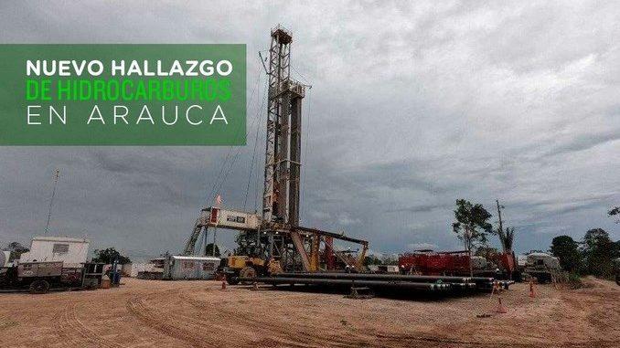 Nuevo hallazgo de hidrocarburos livianos en Arauquita, departamento de Arauca