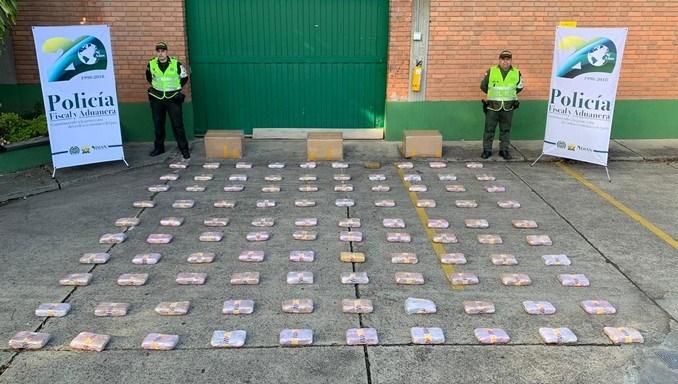 Marihuana incautada Medellín