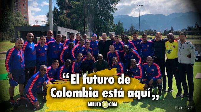 Carlos Queiroz acompana la Seleccion Colombia Sub 17
