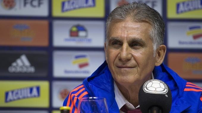 Carlos Queiroz Tecnico seleccion colombia