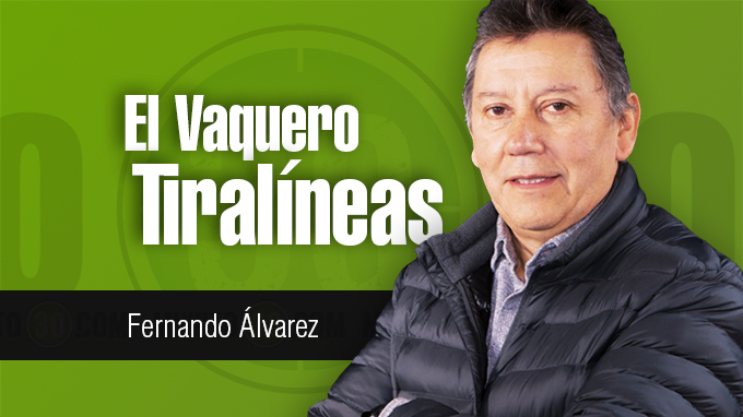Fernando %C3%81lvarez El Vaquero Tiral%C3%ADneas