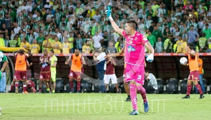 Álvaro Montero, portero del Deportes Tolima