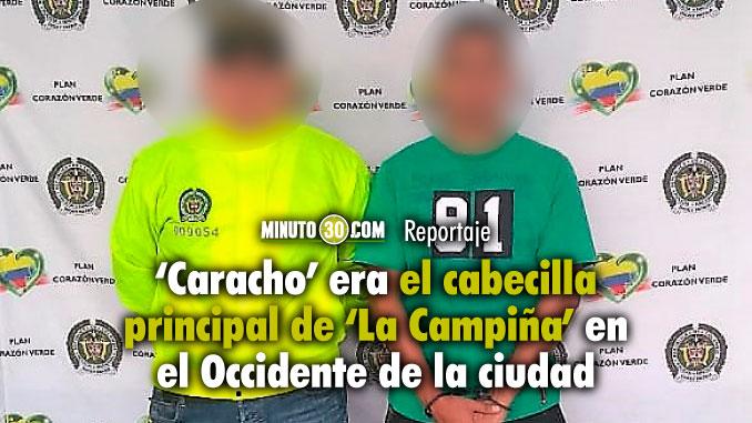 Alias Caracho ultimo que faltaba por capturar en el cartel de los mas buscados de Medellin