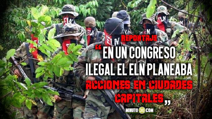 Autoridades estan alerta por intenciones del ELN en Medellin