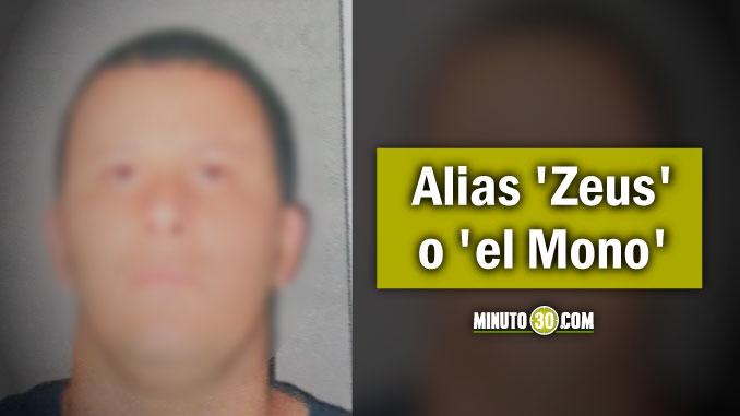 José Alexánder Peláez Mejía, alias Zeus o el Mono