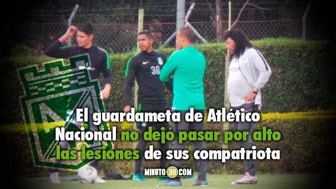 Jose Fernando Cuadrado le envio mensaje a David Ospina y a Quintero