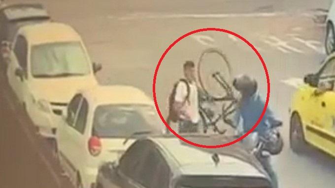 Ladrones bici