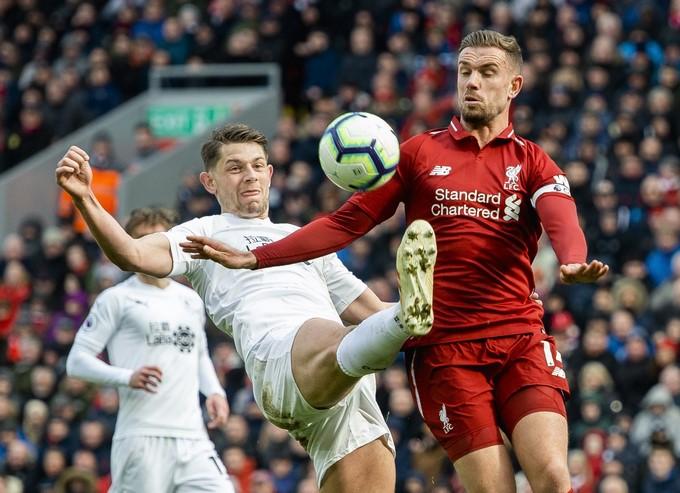 Liverpool golea al Burnley 1