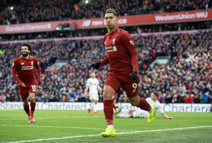 Liverpool golea al Burnley 3