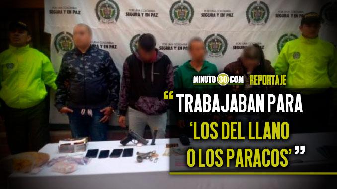 Otro golpe Autoridades capturaron a cuatro integrantes de la estructura delincuencial Robledo