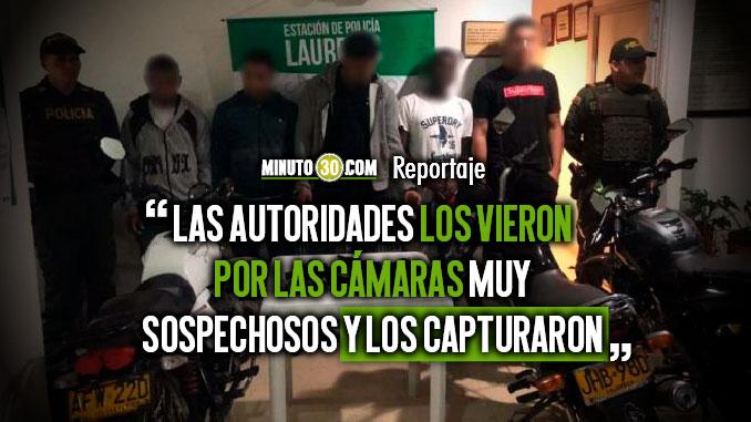 Seis personas capturadas entre ellas un hombre sindicado de haber perpetrado cinco homicidios en La America