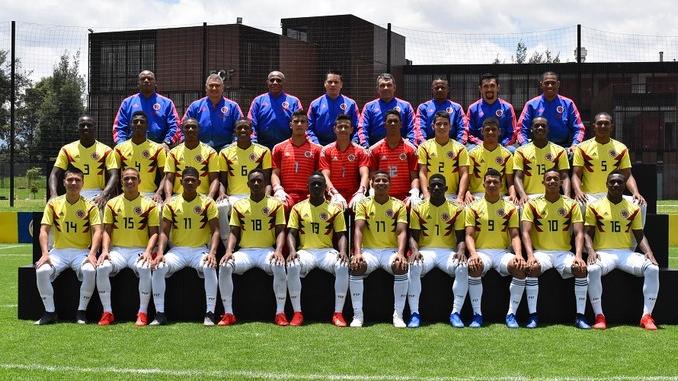 Seleccion Colombia Sub 17 D