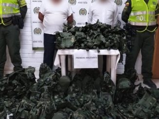 chalecos arnés de uso privativo de las Fuerzas Militares