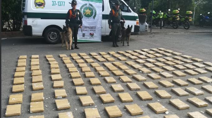 cargamento de marihuana incautado