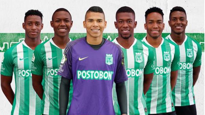 jugadores de Nacional convocados a la sub 20