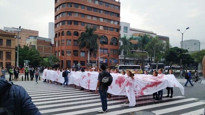 protesta San Juan 6
