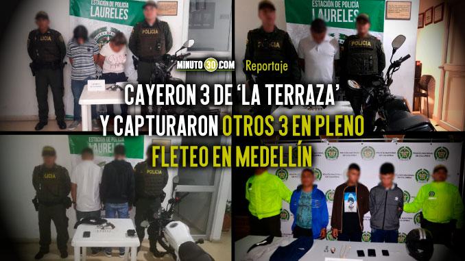 A las autoridades no les tiembla la mano en la ofensivas contra el hurto en Medellin