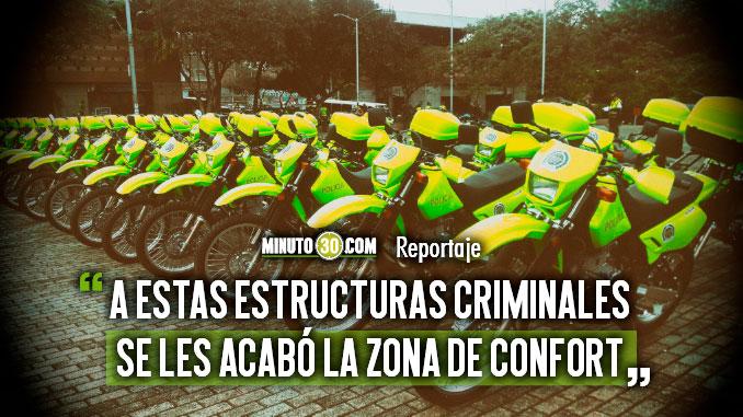 Capturas de bandidos hacen tambalear a las estructuras criminales de Medellin