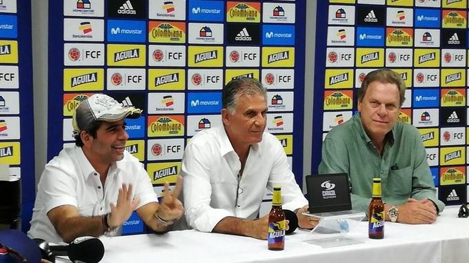 Carlos Queiroz en Barranquilla Copiar