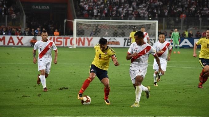 Colombia frente a Peru