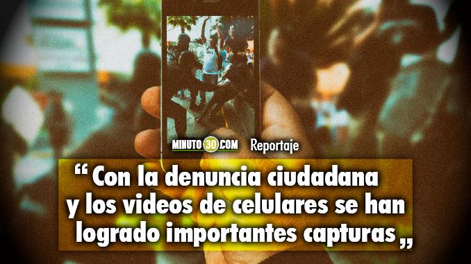 El celular es la mejor arma en contra de las estructuras criminales Alcalde Federico Gutierrez