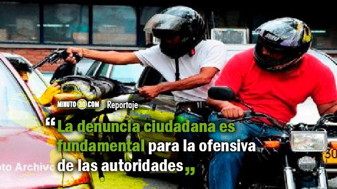 Hurto en modalidad de fleteo disminuyo en Medellin un 56