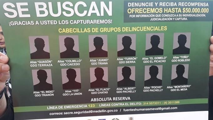 Mas buscados en Medellin 11