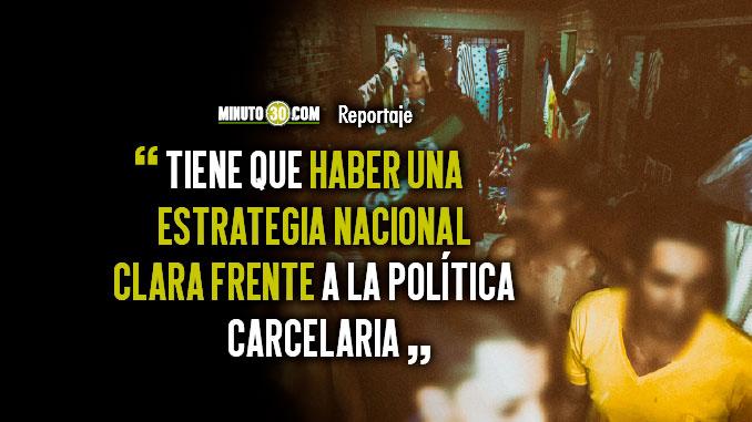 Problematica de nunca acabar Hacinamiento en las carceles en Medellin supera el 500