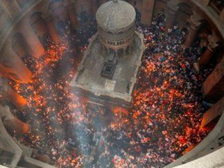 fuego sagrado ortodoxo Copiar