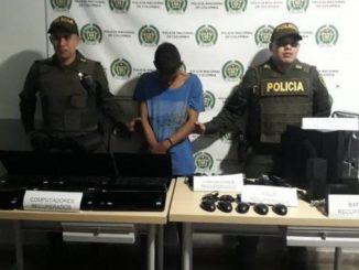 Alias Sisas capturado por la Policia