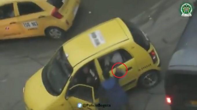 Atracador de taxis en Bogota Copiar