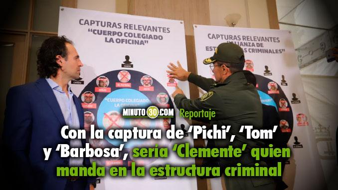 Autoridades estan tras la pista de alias Clemente senalado maximo cabecilla de La Oficina