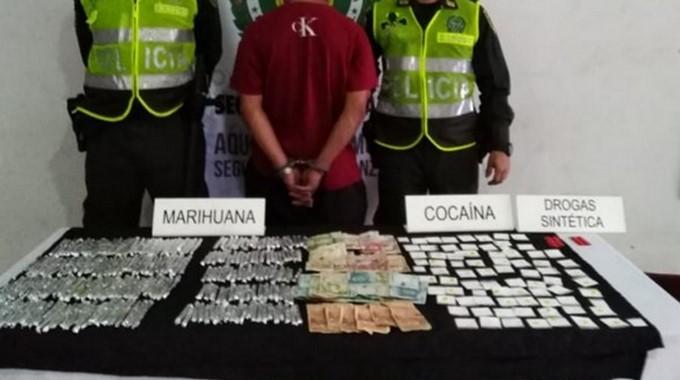Capturado con droga en Medellin Copiar