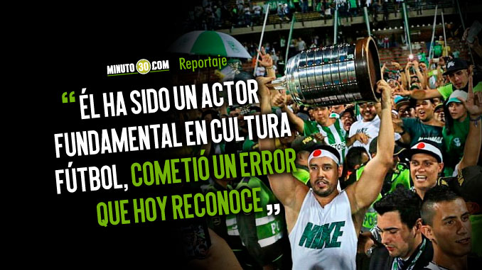 Felipe Ospina fue sancionado durante tres meses fuera del Estadio por agresion a hincha de Santa Fe