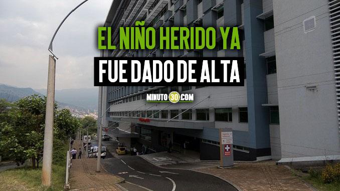 NINO HERIDO