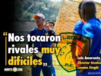 Sonamos ser campeones del primer torneo Luis Amaranto Perea