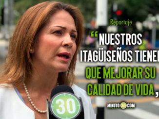 Vamos a trabajar por garantizar empleos en las familias Rosa Acevedo candidata a la Alcald%C3%ADa de Itagui