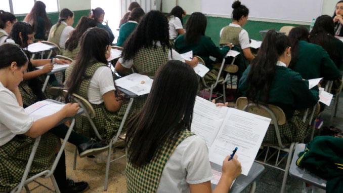 Olimpiadas del Conocimiento de Medellín que hacen parte de la estrategia SaberEs cumplen 15 años. Foto Cortesía.