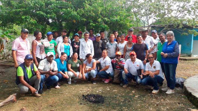En Puerto López avanza la Reparación Colectiva que lidera la Unidad para las Víctimas. Foto cortesía.