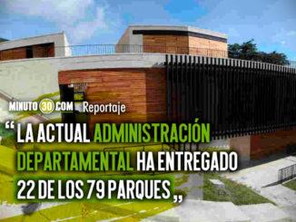 2.500 millones se destinaran para el mantenimiento de Parques Educativos en Antioquia