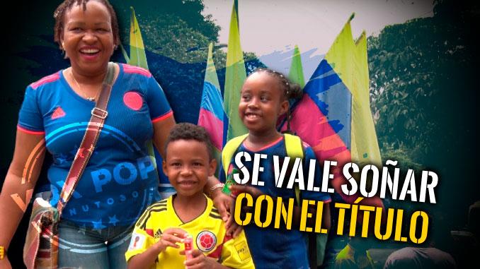 Antioquenos le auguran exitos a la Seleccion Colombia en la Copa America