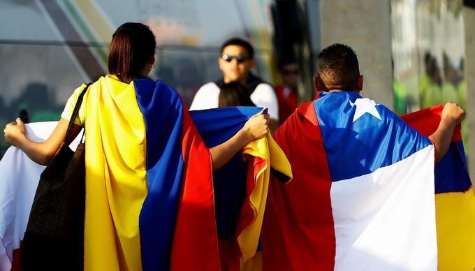 COPA AMERICA HINCHAS COLOMBIA COLOMBIANOS 2 Copiar