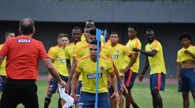 Entrenamiento Seleccion Colombia de Cara a Copa America Falcao Garcia Copiar