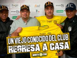 Leones Itagui anuncio la contratacion de su nuevo cuerpo tecnico