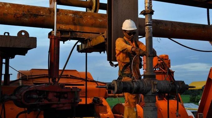 Produccion de petroleo Colombia
