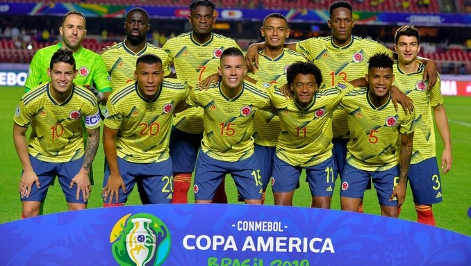 Seleccion Colombia en Copa America 1