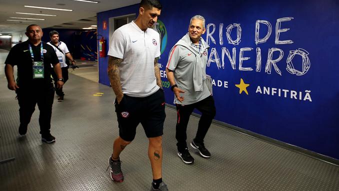 Seleccion de Chile en Copa America 1